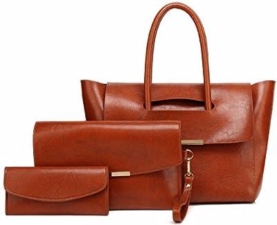 Women Purses and Handbags Shoulder Bag Set for Women 3 PCS Tote Bag Gift Set