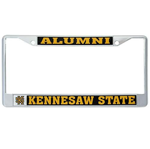Desert Cactus Kennesaw State University Owls Metal License Plate Frame for Front Back of Car Officially Licensed (Alumni)