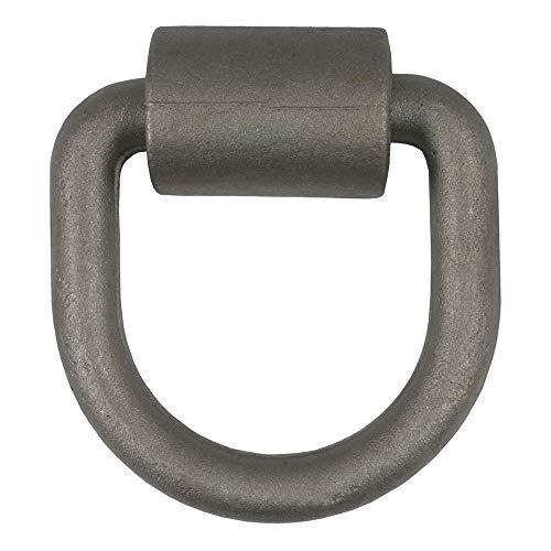CURT 83750 âncora de amarração com anel D de 11 cm x 11 cm, resistência à ruptura de 8 kg