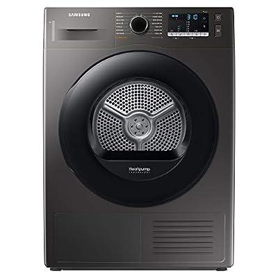 Samsung DV80TA020AX/EU Freestanding Heat Pump Tumble Dryer with Optimal Dry™, 8kg Load, Graphite