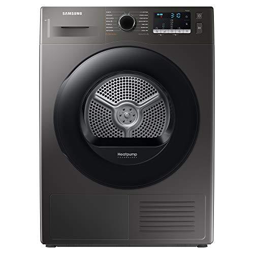 Samsung Series 5 DV80TA020AX/EU with OptimalDry™, Freestanding Heat Pump Tumble Dryer, 8 kg, Graphite, A++ Rated