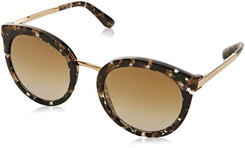 Dolce & Gabbana 0Dg4268, Gafas de Sol para Mujer, Multicolor (Cube Black/Gold), 52