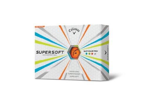 Callaway Supersoft Golf Balls (One Dozen) Prior Generation Model