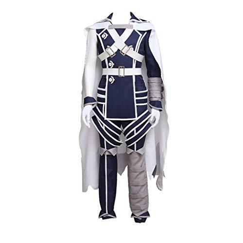 CosplayDiy Men's Suit for Fire Emblem Awakening Cosplay Prince Chrom Battle Costume S