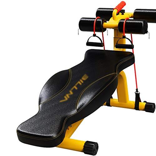 HHOO - Fitness THS@ Trainingsbank Bauchtrainer - SchräGbank 3D-Passform RüCkwand Solide Doppel-Dreieck-UnterstüTzung füR Den Innenbereich 02