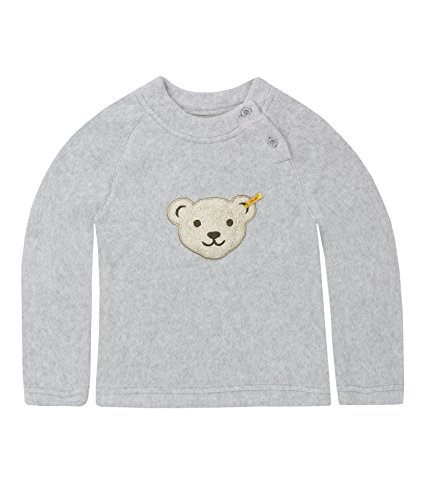 Steiff Steiff Unisex Baby Kleidung Gr. 18-24 Monate, Grau - gris (Steiff Softgrey Melange)
