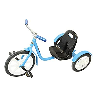 AmishToyBox.com Groffdale Chopper Deluxe Kid's Trike (Blue) by Groffdale Machine