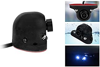 XTRONS Waterproof Night Vision 2 LED Car Side Front Rear View Cam Wide Angle Blind Spot Camera CCD Adhesive Mount