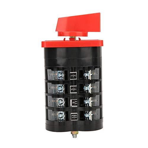 Ginorgee Interruptor de Cambio de 3 Posiciones - LW5D-16/4 Interruptor de Cambio Universal de 3 Posiciones Interruptor de Leva Giratorio 16A 250V