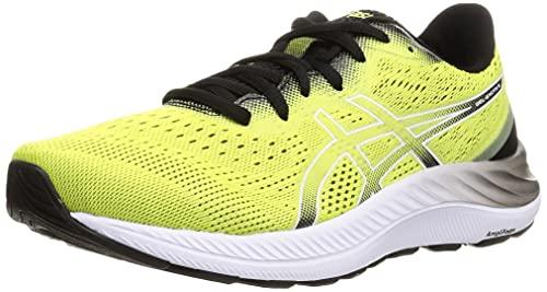 ASICS Gel-Excite 8, Zapatillas de Running Hombre, Glow Yellow White, 43.5 EU