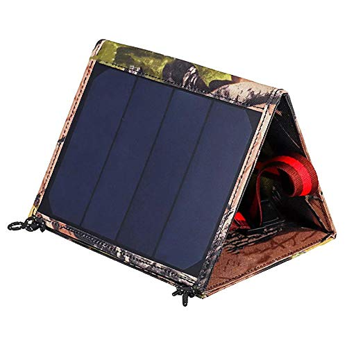 Solar Charger USB Solar Battery Power Panel 15W 5V Outdoor Charging Opvouwbaar