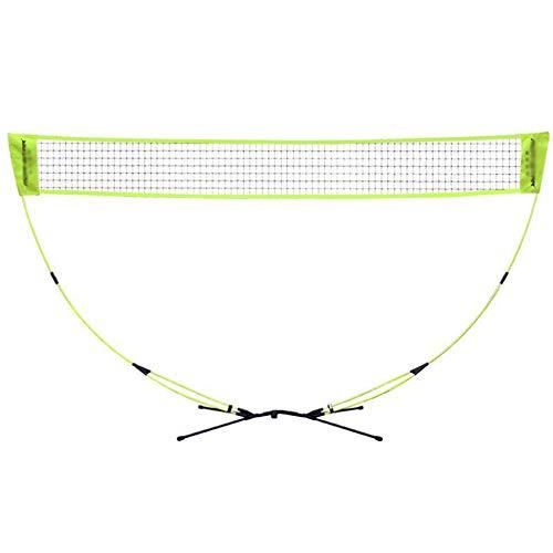 DIMPLEYA Imposta Portable 3 in 1 Outdoor Tennis Badminton Pallavolo Net Semplice Piegatura Multi Sport Up su Qualsiasi Superficie in Secondi Educazione Fisica di Movimento