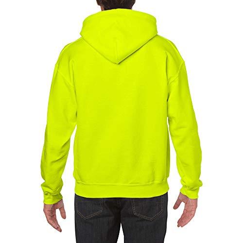 Gildan Herren Heavy Blend Hooded Sweatshirt 18500 Safety Green XL