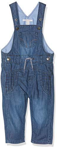 ESPRIT KIDS Baby-Jungen Rp2000207 Dungarees Latzhose, Blau (Medium Wash Denim 463), (Herstellergröße: 62)