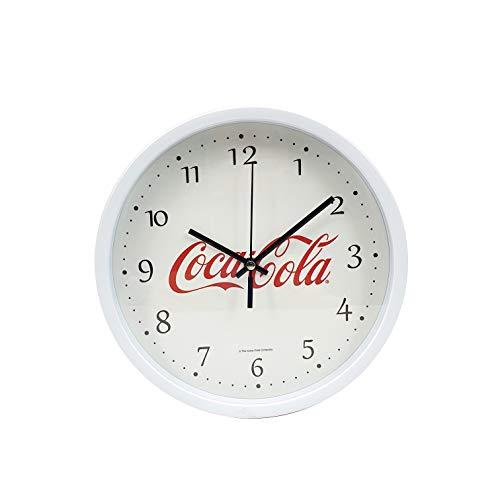 thesecrethome.es Reloj Pared Coca-Cola – Reloj Salon Decorativo – Reloj Pared Rojo...