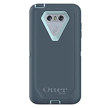 OtterBox Defender Series Case for LG G6 - Frustration Free Packaging - Moon River  Bahama Blue/Tempest Blue