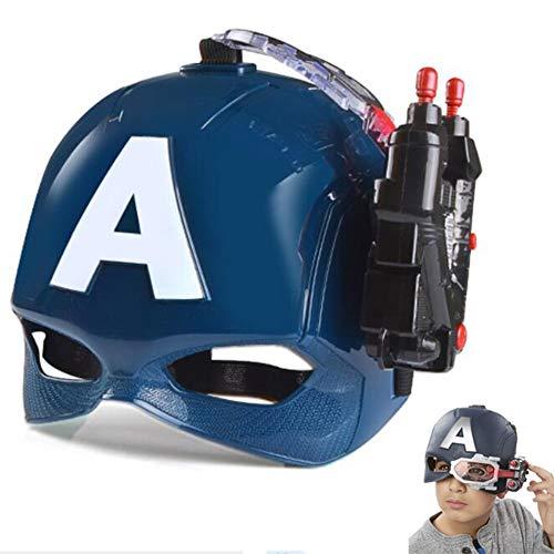 Towel Rings Marvel Avengers Captain America Deluxe Kind 's Mask Kostüm Zubehör,...