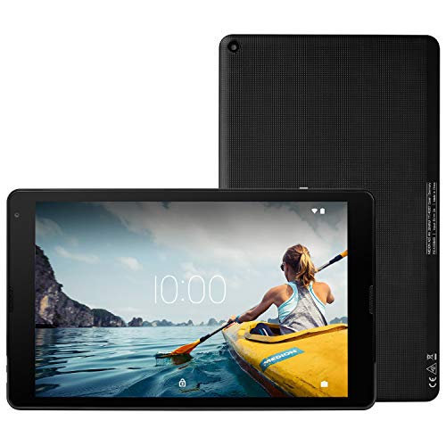 MEDION E10420 25,7 cm (10,1 Zoll) HD Tablet mit IPS Display (Android 10, Quad Core Prozessor, USB Typ C, 2GB RAM, 32GB Speicher, WLAN, Bluetooth, 2MP Kamera) schwarz