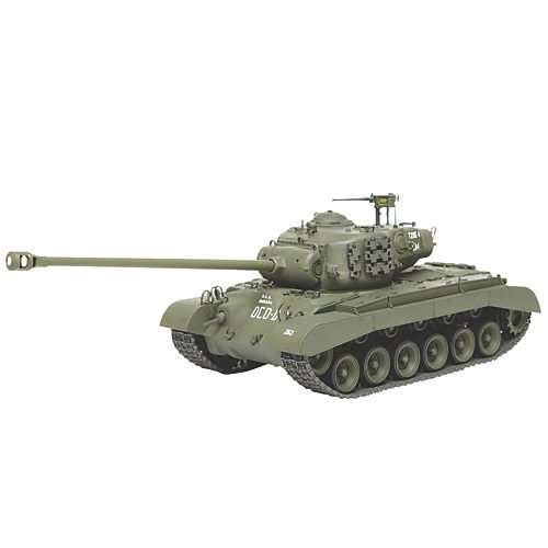 Tamiya 300035319 T26E4 Super Pershing - Tanque Estadounidense a Escala 1:35, Segunda Guerra Mundial, EE.UU. Blindados
