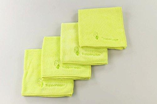 TUPPERWARE FaserPro Kosmetik limette Mikrofasertuch (4)