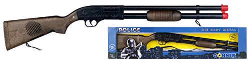 Gonher- Rifle Policía Sonido Mecánico -...