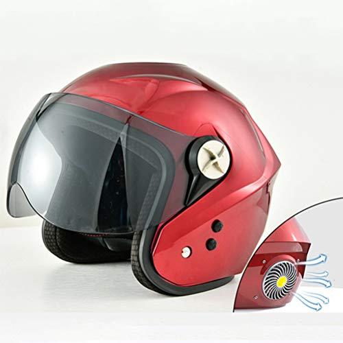 Casco de bicicleta para adultos con ventilador y Bluetooth para viajeros urbanos