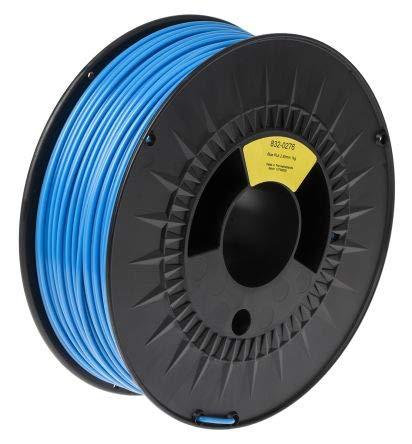 RS PRO 2.85mm Blue PLA 3D Printer Filament, 1kg