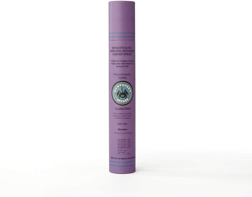 Nantucket Spider Garden Incense Sticks | Repellent for Mosquitos