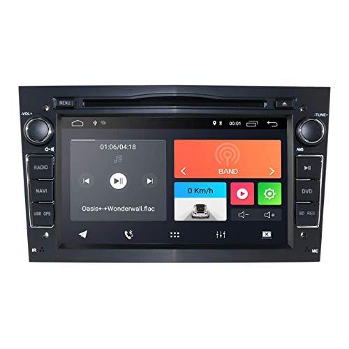 JIBO Android 10 Carro Radio Estéreo GPS Navegación Cabeza Unidad por Opel Vauxhall Holden Nav Sat 7' Tocar Pantalla Apoyo Teléfono Control BT Multimedia Jugador Video Receptor