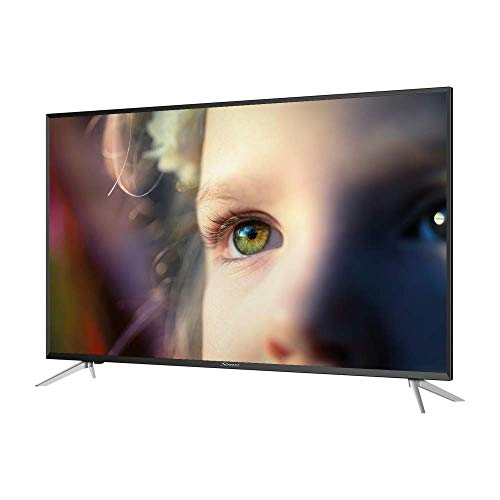 STRONG SRT43UC4013 4K Ultra HD LED TV écran 108cm, 43 Pouces, Triple Tuner (DVB-T2 HEVC 265/C/S2), 60Hz, Dolby Audio Digital, HDMI x3, USB Multimédia, Optique, CI+