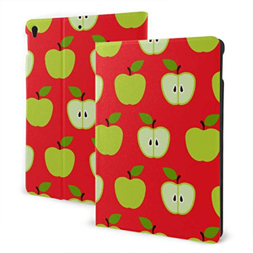 Funda Suave para iPad 2019 iPad Air3 / 2017 Funda para iPad Pro de 10,5 Pulgadas/Funda para iPad 2019 7 ° de 10,2 Pulgadas Funda para niños con Diferentes rebanadas de Manzana pa