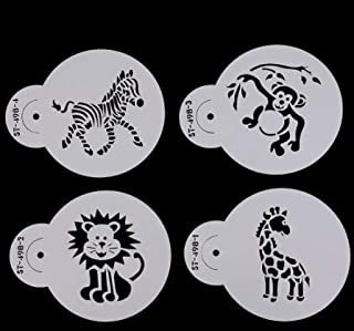 Animals Cookie Stencil Set of 4