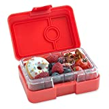 Yumbox Mini XS Snackbox - 3 Fächer (Saffron Orange) | Kleine Kinder Vesperdose Vesperbox Snackdose...