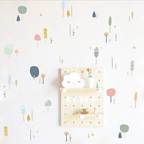 Nordischen Stil Baumsetzlinge Pflanze Wandaufkleber Wohnzimmer Schlafzimmer Kinderzimmer Aufkleber Kindergarten Dekorative Aufkleber