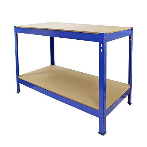 HTI-Line Werkbank Havel 2 Werkstatt Packtisch Werktisch Werkstatteinrichtung Mehrzwecktisch Arbeitstisch