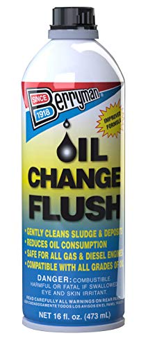 Berryman 1216 Oil Change Flush, 16-Ounce