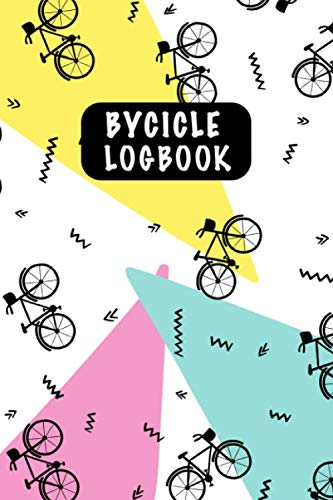 Baycicle Logbook: Bicycle Maintenance Log Book for Road Bikes & Mountain Bikes, Bicycle Log Journal, Repair Record Book with Safety Checks & Trip Cyclocomputer Log for Cyclists Gifts