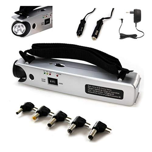 Captelec caricabatterie di emergenza con Lampada