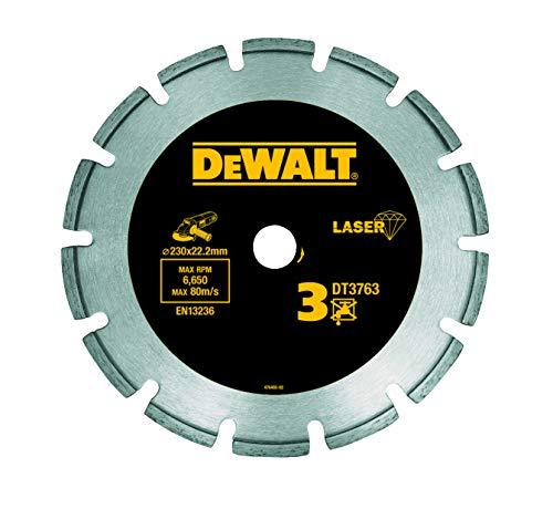Dewalt DT3763-XJ - Disco de diamante 230mm corte de materiales duros y granito