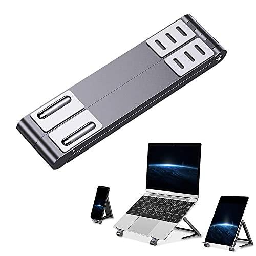 Worth having - Soporte de la computadora portátil, soporte para computadora portátil Soporte de la computadora de la computadora de la computadora portátil, soporte de escritorio ventilado plegable pa