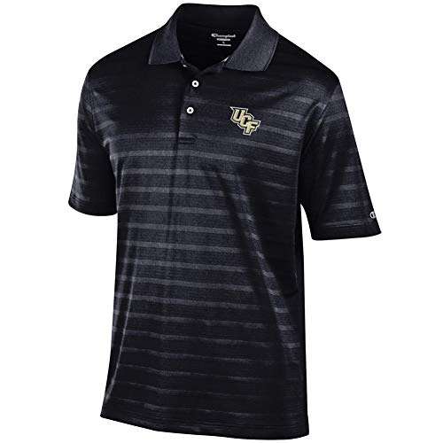 Elite Fan Shop UCF Knights Polo Shirt Black - Large