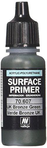 Vallejo - Fond de surface en polyuréthane - Coloré - 17 ml UK Bronze Green