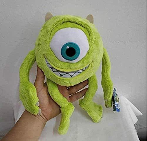 APcjerp 28cm Monsters Inc Mike Wazowski en Peluche Université Monstres en Peluche Douce Boy Doll for Enfants Cadeau
