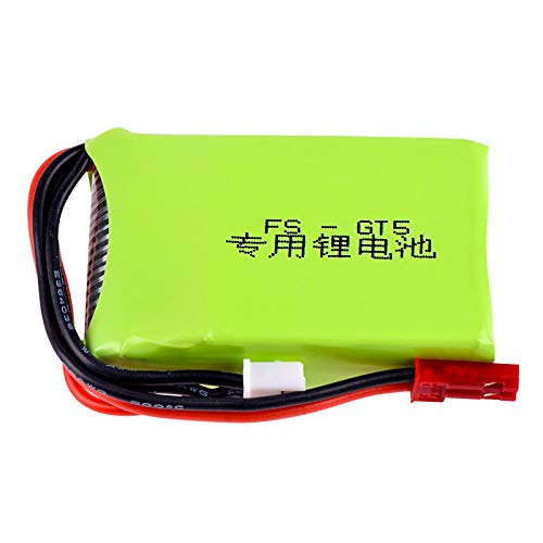 7.4v 1000mah 2S RC Lipo Battery Fits for Flysky FS-GT5 2.4G 6CH Transmitter RC Remote Controllor