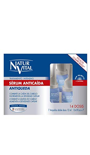 NaturVital Sérum Tratamiento Intensivo Anticaída  - 84 ml