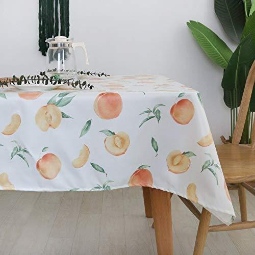 XXDD Mantel para Sala de Estar Mantel para el hogar Mesa de Cocina Impermeable y Resistente al Aceite Comedor Mantel Rectangular A1 140x140cm