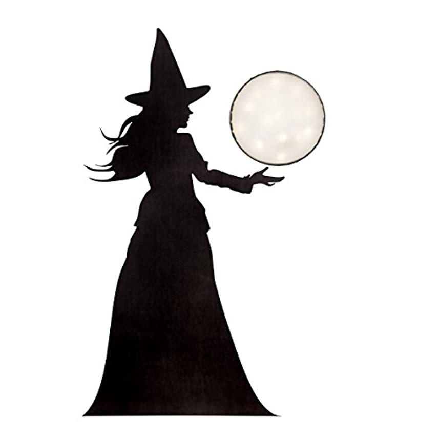 Martha Stewart Vinyl Witch Window Décor