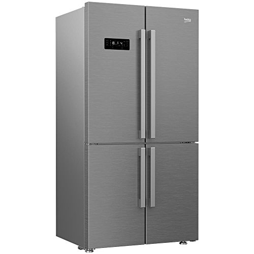 Beko GN1416232ZX Freestanding 541L A++ Stainless steel side-by-side refrigerator...