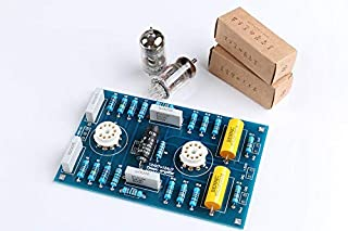 FidgetKute Tube Preamplifier Preamp Board 12AX7 / 21AU7 DIY Kits Classic Circuit