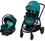 Maxi-Cosi Zelia2 Travel System Stroller with Mico 30 Infant Car Seat (Spring Meadow)